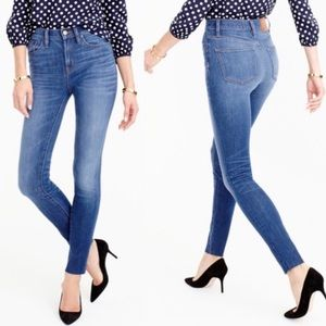 J Crew | Lookout High Rise Skinny Jeans